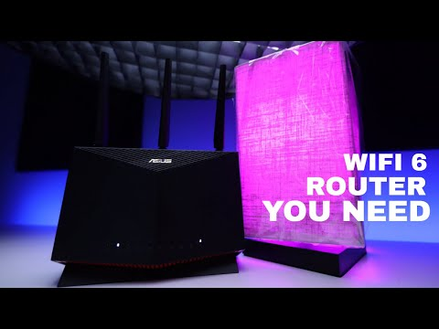 ASUS rt-AX86U   A Game Changer for Video Editing and Gaming