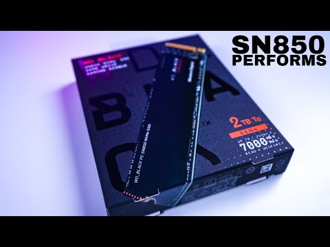 Install and Testing WD Black SN850 NVME SSD 2TB First Impressions