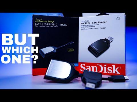 Sandisk Extreme Pro SD Card Reader. Should You Upgrade?