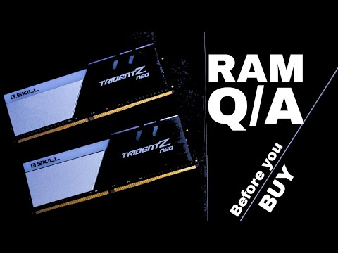 Buying Ram? Answers to Questions Before Buying RAM