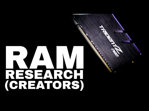 RAM Research | How Much RAM Do You Need for Creators