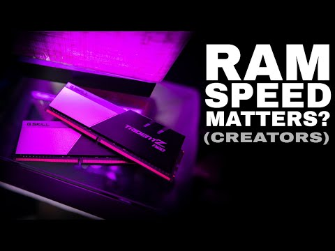 Does RAM Speed Make a Difference With Rendering | Premier Pro
