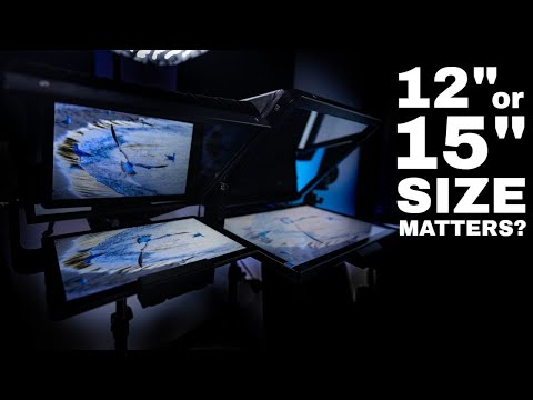 Best Teleprompter Size? 12 Inch vs 15 Inch? What is Best For You?